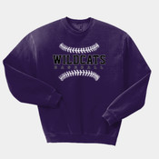 WildcatsBB - 562 Jerzees Adult 8oz. NuBlend® 50/50 Fleece Crew