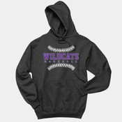 WildcatsBB - 996 Jerzees Adult 8oz. 50/50 Pullover Hooded Sweatshirt