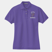 EMB - M265W Harriton Ladies' 5.6 oz. Easy Blend™ Polo